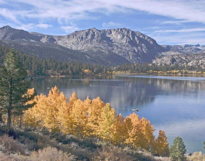 June Lake in the Fall