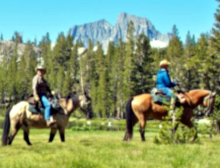 Frontier Pack Train Horseback Riding